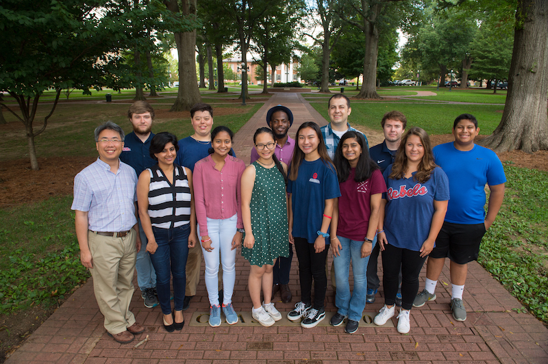 ARISE 2018 Participants.  Photo by Thomas Graning/Ole Miss Communications