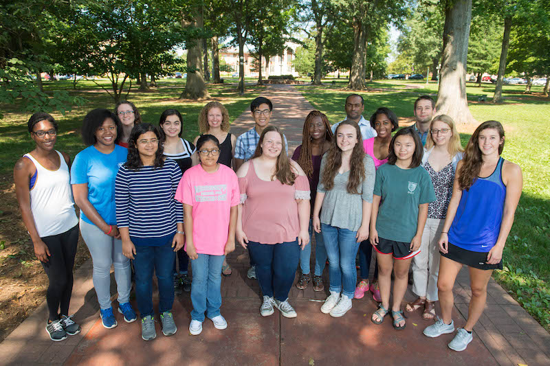 ARISE 2017 participants.  Photo by Kevin Bain/Ole Miss Communications